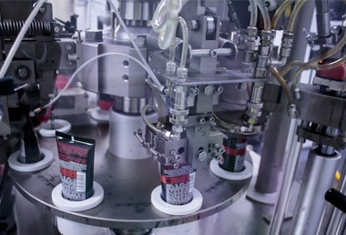Made In Britain Skincare Production Line Image