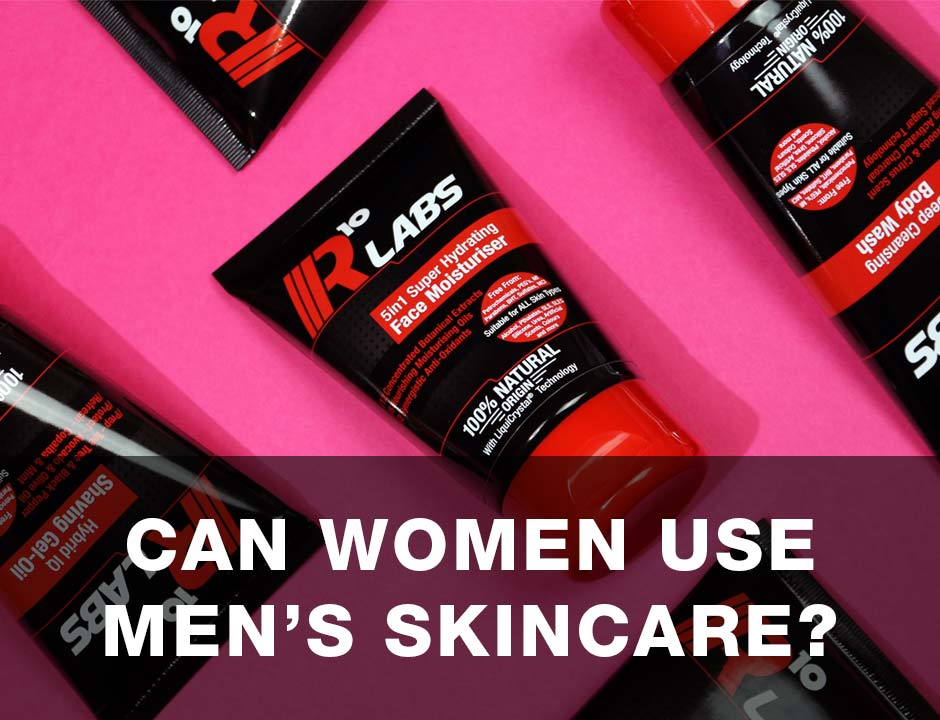 Women's Skincare - Can Women Use Mens Skincare