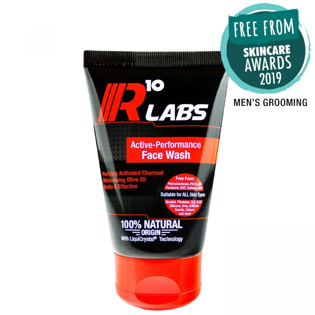 R10 Labs Active-Performance Face Wash