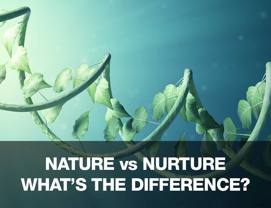 Nature vs Nurture: What's more important?