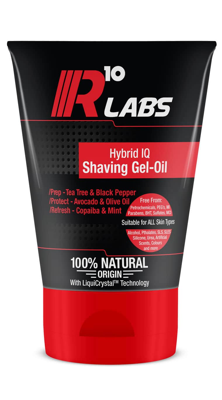 R10 Labs Hybrid IQ Shaving Gel-Oil Shave Gel Product Image